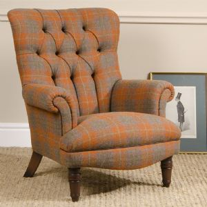 Tetrad Harris Tweed Calvay Chair